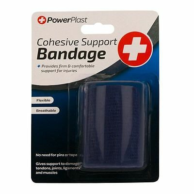 Cohesive Support Bandage First Aid Support Injuries Aches Medical Wraps Flexible