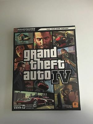 Grand Theft Auto IV (4) Signature Series By Bradygames PS3, Xbox360 Pc