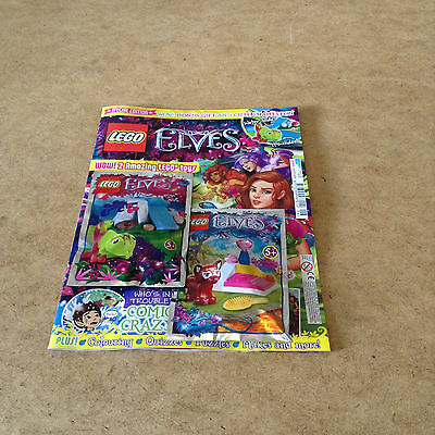 Lego Special Edition Elves #6 + Hidee The Chameleon & Flamy The Fox Toy Sets