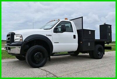 2006 Ford F-450 XL 4x4 9ft Utility Flatbed Truck