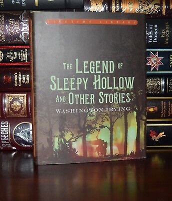 Legend of Sleepy Hollow & Stories by Washington Irving New Deluxe Hardcover Gift