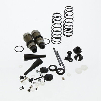 Team Losi 8IGHT-T 4.0 Truggy 1/8: Rear Shocks & Springs, Body, Shafts, Caps, End