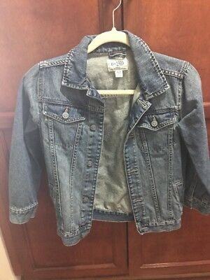 Children's Place Denim Jean Jacket Size M 7/8