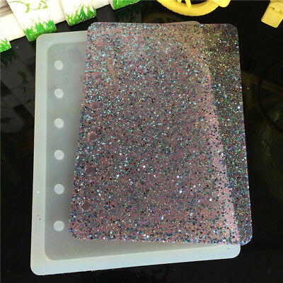 Silicone DIY Notebook Cover Mold Jewelry Resin Casting Mould Craft A7 Size