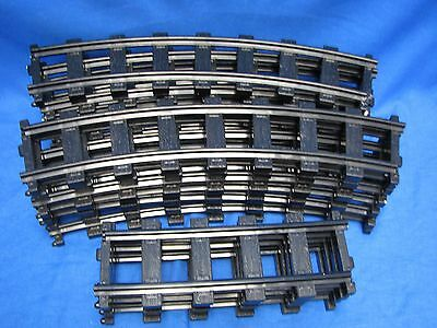 16 Lionel Polar Express G-Gauge Tracks 12 Piece Curved + 4 Straight 7-11022