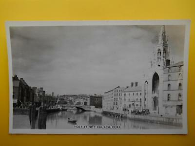 Holy Trinity Church CORK Ireland - Photocraft Dublin RP c1950s Old Cars