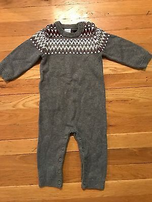 Baby Boys Gymboree Hoot and Hop Sweater Outfit Size 12-18 months