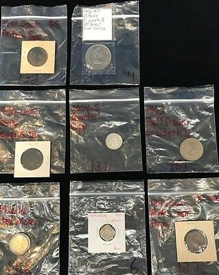 8 miscalaneous coin lot