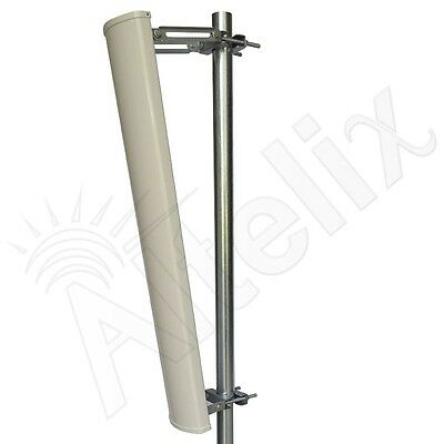 Altelix 2.4 GHz 16 dBi 120 Degree WiFi Sector Sectorial Antenna 40 Inches Long