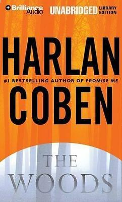 THE WOODS by Harlan Coben (2007, 11 CD's, Unabridged) Like New