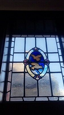 antique victorian leaded stain glass windows