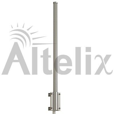Altelix 890-960 MHz 11dBi Pro Quality 900 MHz Omni Antenna SCADA Omni 8 FT Long
