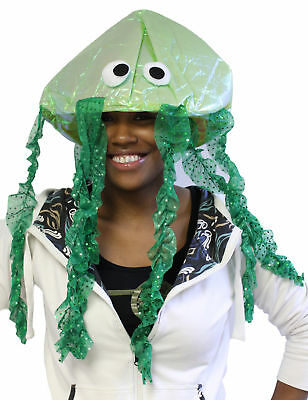 Costume Accessory -Iridescent Novelty Jellyfish Hat