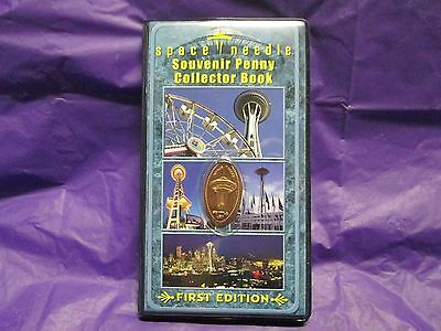Seattle Washington Elongated Squished Penny Collector Book Souvenir Coin Album