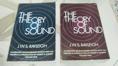 Opera completa The Theory of Sound, J.W.S. Rayleigh