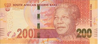 South Africa Banknote P#137-4962 200 Rands Almost Uncirculated-Uncirculated