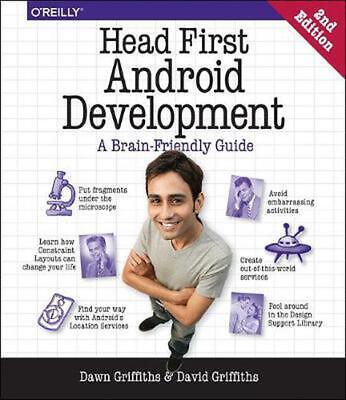 Head First Android Development 2e by Dawn Griffiths Paperback Book Free Shipping