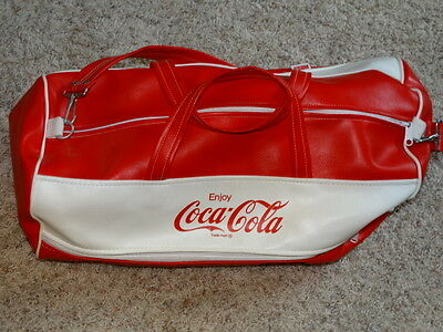 Coca-Cola Vintage Bag Unique Style Rare Lw Price Collectible Ross Clean
