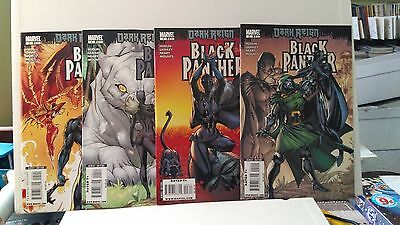 "A Lot of 7 ""Black Panther"" #2, 3, 4, 5, 6, 7, 8 (May 2009, Marvel)"