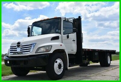 2008 Hino 22 Ft Flat Bed Diesel - Low Reserve!