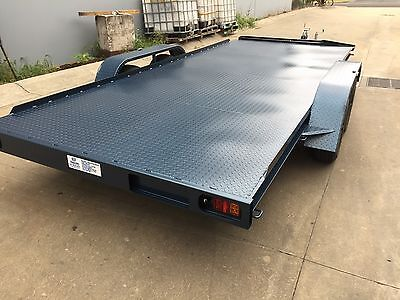 Brand New Extra Long Car Bike Quad Carrier Trailer 17Ft Tandem Axle 2T Atm