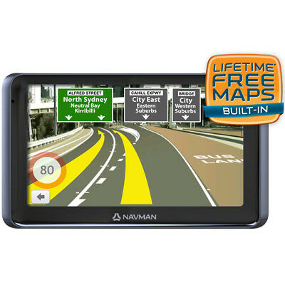 "New Navman - GPS System - 4GB -  6"" LCD - MY670LMT from Bing Lee"
