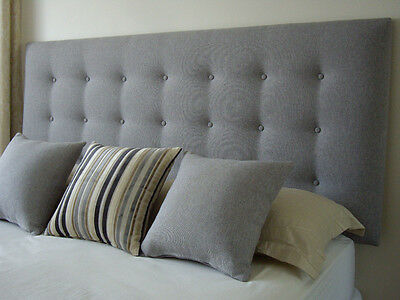 New Bed Head Double Size Buttoned Upholstered Bedhead /  Headboard Furniture