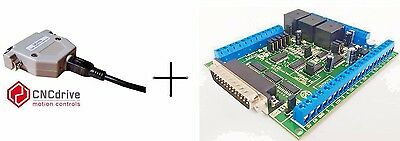 UC100 USB MOTION CONTROLLER AND C11G - MULTIFUNCTION CNC BOARD BUNDLE test