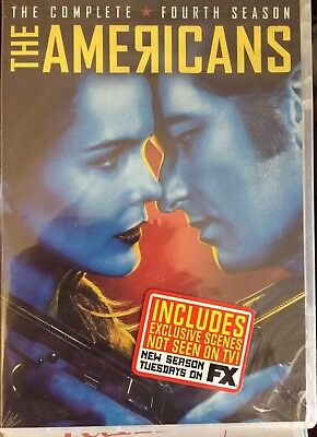 The Americans Season 4 *in Stock*