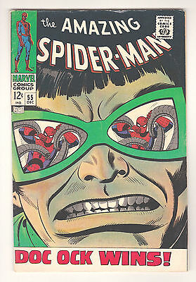 Amazing Spider-Man #55 - Marvel (December 1967) - 4.5 Vg+ Condition