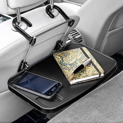Folding Car Back Seat Table Multi-Functional Collapsible Tray Holder Stand 4cm