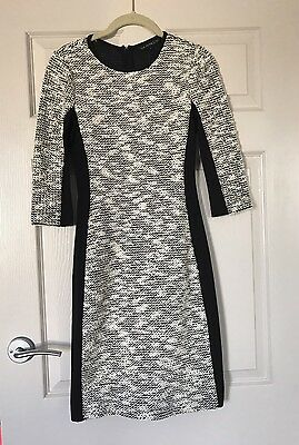Cue in the City Panel 3/4 Sleeve Dress size 6 BNWOT