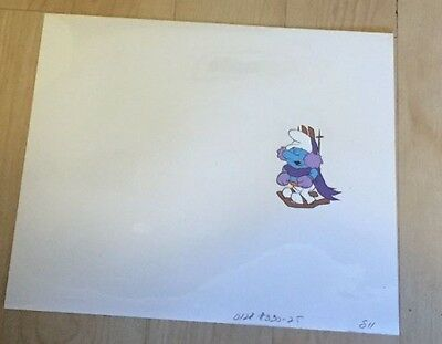 Smurfs  Production Cel Hand Painted