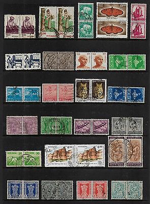 INDIA - mixed collection, joined pairs No.13