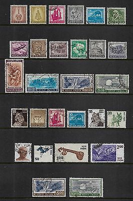 INDIA - mixed collection, 1965 & 1974