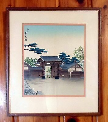 Antique Japanese Woodblock Print - Well Signed and Sealed