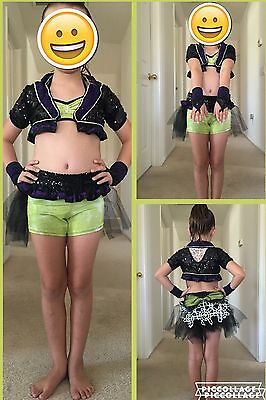 Competition Dance Costume Custom Made