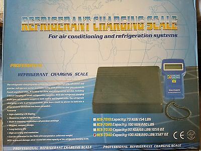 IWISS RCS-7040 Battery-Powered Electronic Refrigerant Charging Scale Kit