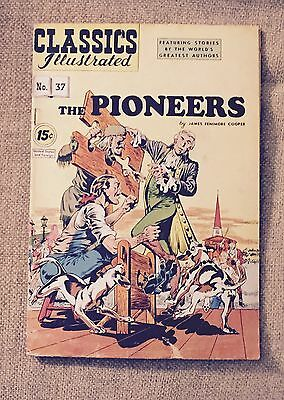 Classic Illustrated The Pioneers By James Fenimore Cooper 1947 #37