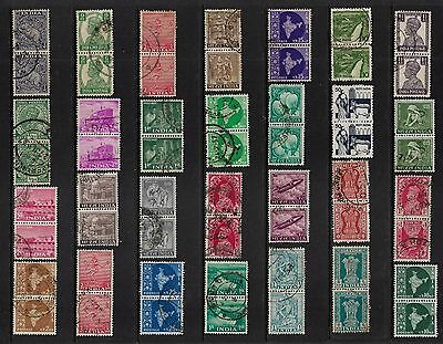 INDIA - mixed collection, joined pairs No.9