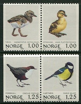 Birds 1980 - Mnh Set Of Two Booklet Pairs (Bl315-Rr)