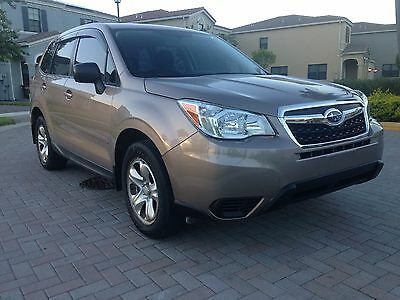2014 Subaru Forester  Only 34,715 miles. Great condition.