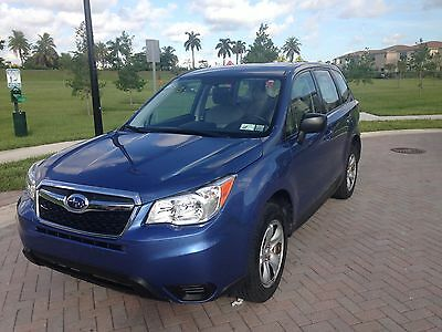 2015 Subaru Forester  Only 34,501 miles. Great condition.