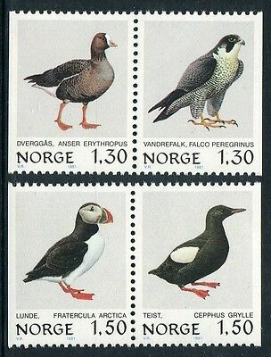Birds 1981 - Mnh Set Of Two Booklet Pairs (Bl312-Rr)