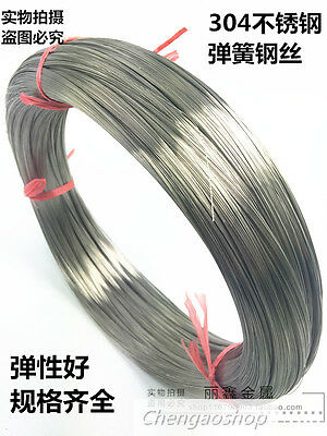 Wire dia 0.1-2.2mm 304 Stainless steel Spring wire DIY Accessories Select #QK ZX