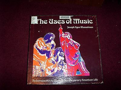 The Uses Of Music,joseph Agee Mussulman 3Lp Box Set,w/book,see Details