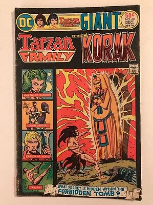The Tarzan Family #60 (Nov-Dec 1975, DC)