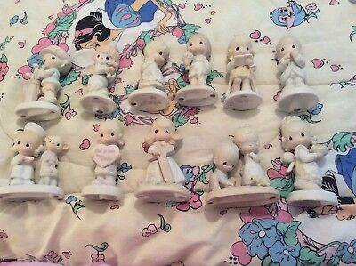 Lot Of 30 Precious Moments Figurines