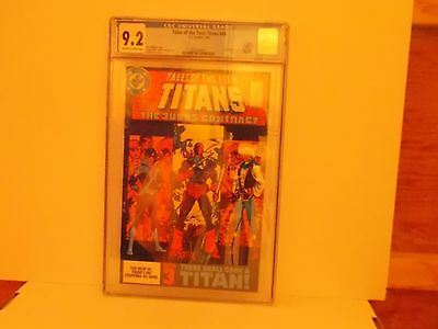 Tales of the Teen Titans #44 1st Nightwing CGC 9.2 Deathstroke / White Pages