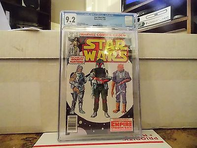 Star Wars  # 42 /  CGC 9.2  / NM- 1980 Marvel   /  1st Appearance  /  Boba Fett
